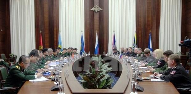 越俄第二次副部长级国防战略对话在莫斯科召开 hinh anh 1