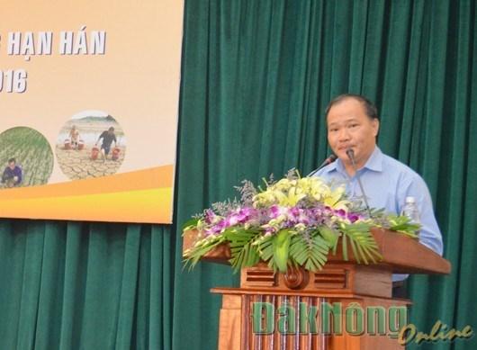 2016年越南西原地区防旱抗旱工作部署会议在得农省举行 hinh anh 1