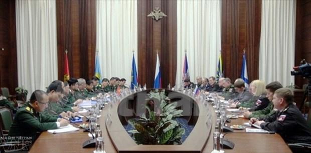 越南国防部副部长阮志咏:越俄战略对话有助于增强双方在防务合作领域的政治互信 hinh anh 1