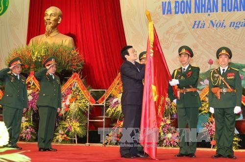 张晋创主席出席国防部军需供应局成立70周年纪念典礼 hinh anh 1