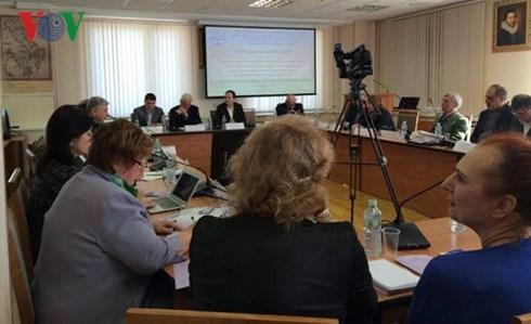 东海问题国际研讨会在俄罗斯举行 hinh anh 1