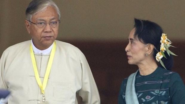 缅甸联邦议会宣布新内阁成员名单 hinh anh 1