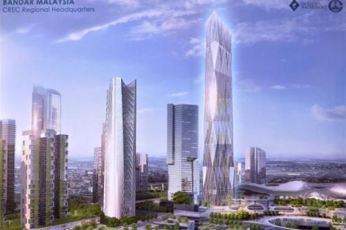 中国中铁投资20亿美元在马来西亚建区域总部 hinh anh 1