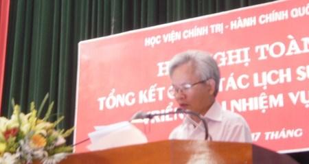 2016—2017年全国党史工作部署会议在河内召开 hinh anh 1