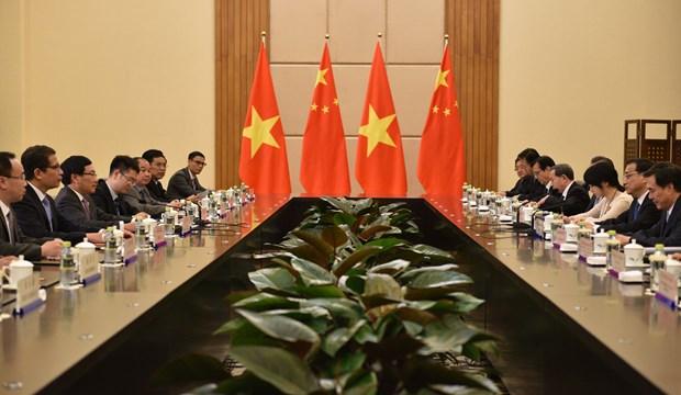范平明副总理会见中国国务院总理李克强和俄罗斯副总理德沃尔科维奇 hinh anh 2