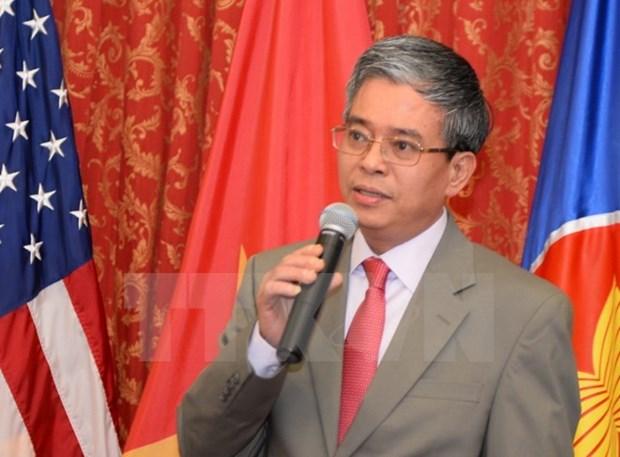 越南主持召开在美国举行的东盟委员会会议 hinh anh 1