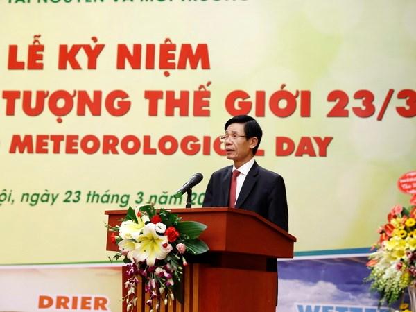 越南举行2016年世界气象日纪念仪式 hinh anh 1