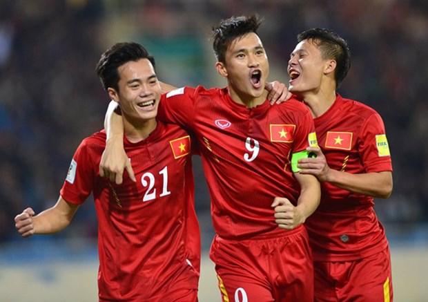 2018年世界杯亚洲区预选赛:越南队4比1战胜中国台湾队 hinh anh 1