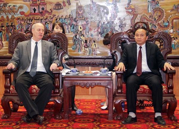 中国台湾企业在越南永福省展开智能电子设备生产厂项目 hinh anh 1