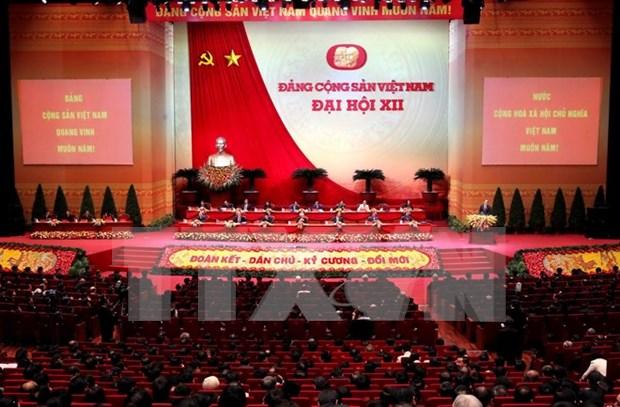 越共中央政治局签发关于学习、贯彻落实和宣传越共十二大决议的指示 hinh anh 1