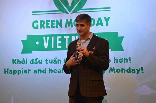 """""""绿色周一""""运动在越南正式发起 hinh anh 1"""