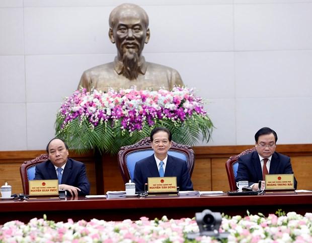 越南政府总理阮晋勇主持召开3月份政府例行会议 hinh anh 1