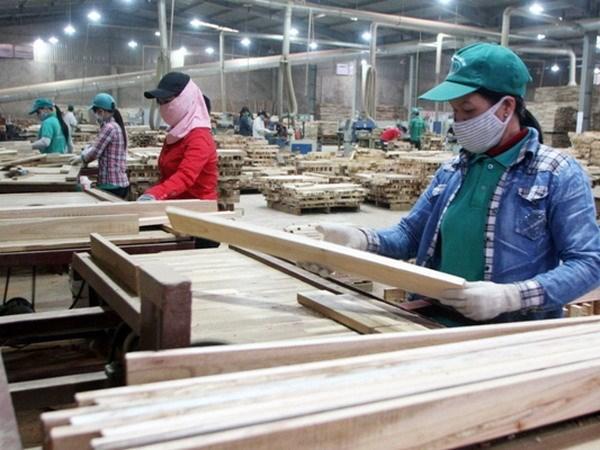 一季度越南木材和木制品出口额同比增长3.4% hinh anh 1