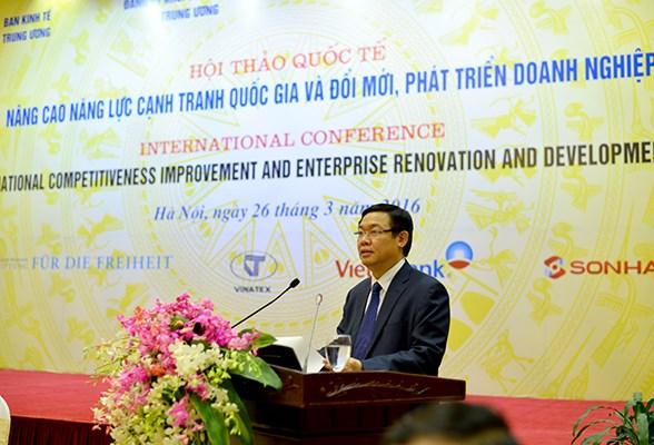 越南致力于提高国家竞争力 促进企业改革 hinh anh 2
