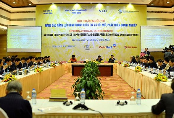 越南致力于提高国家竞争力 促进企业改革 hinh anh 1