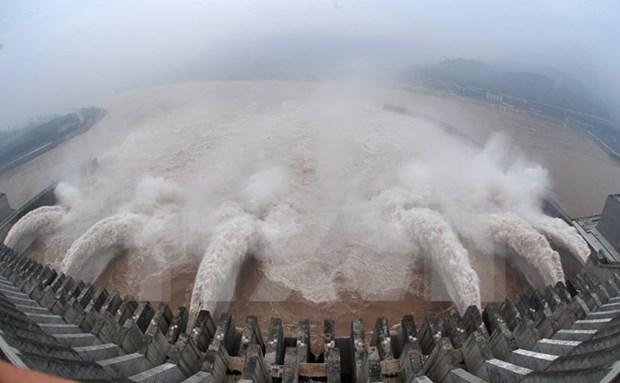 老挝放水帮助越南应对游旱情和海水入侵 hinh anh 1