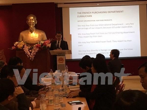 越南大米企业寻找措施把大米打入法国市场 hinh anh 1