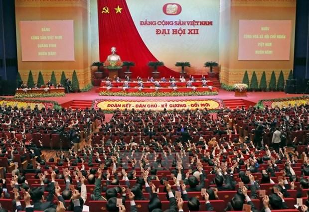 动员整个政治体系参与实施越共12大决议 hinh anh 1