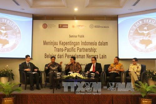 """""""印尼加入TPP的可能性及各国经验""""研讨会在雅加达举行 hinh anh 1"""