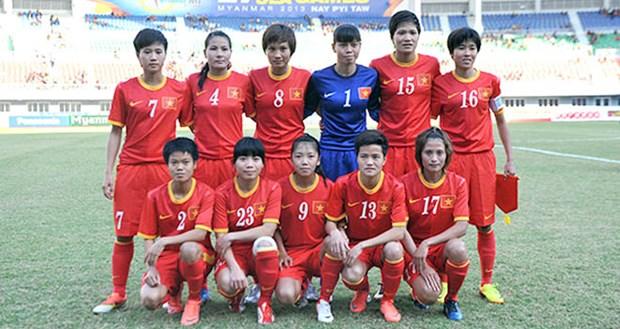 FIFA女足最新排名:越南队下降6位 hinh anh 1