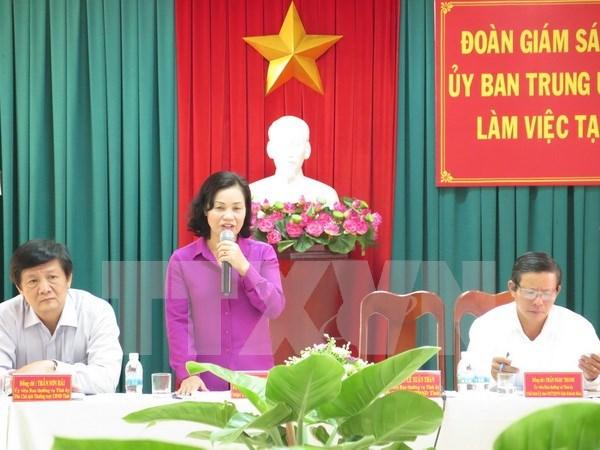 庆和省建议长沙岛县提前一周举行选举 hinh anh 1