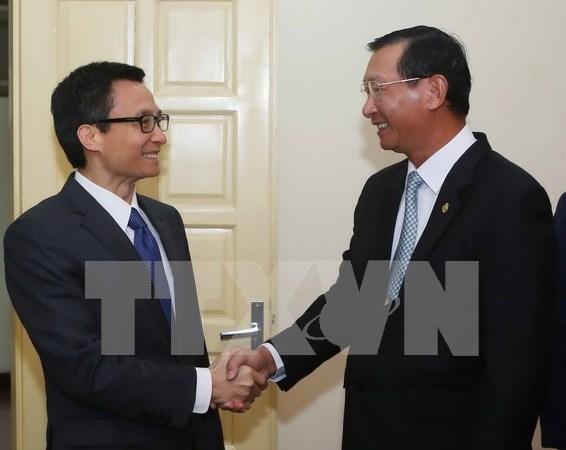 越南与柬埔寨努力走进第三国市场 hinh anh 1