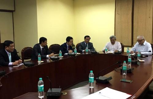 河内市领导代表团对印度进行工作访问 hinh anh 1
