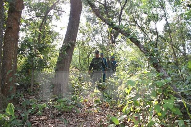 越南向老挝安全部队授予奖项 hinh anh 1