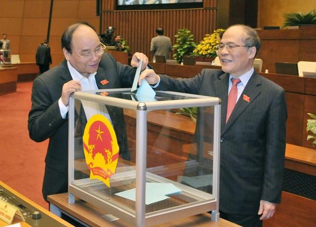 越南第十三届国会第十一次会议发表第八号公报 hinh anh 2