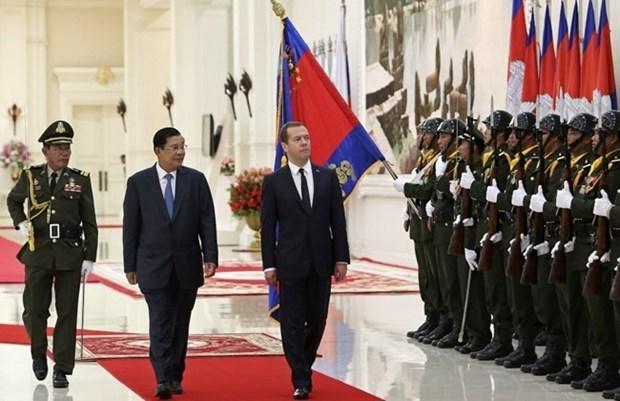 柬埔寨与俄罗斯政府间联合委员会第九次会议在金边召开 hinh anh 1