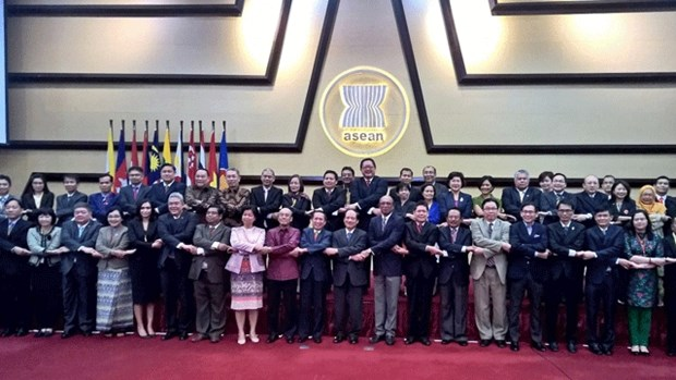 东盟各国对文化社会领域取得的成就表示满意 hinh anh 1