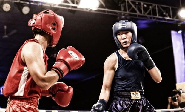 里约奥运会拳击亚大区资格赛:越南运动员刘氏缘晋级半决赛 hinh anh 1