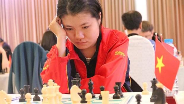 国际象棋2016亚洲团体赛:越南女队击败伊朗继续领跑 hinh anh 1
