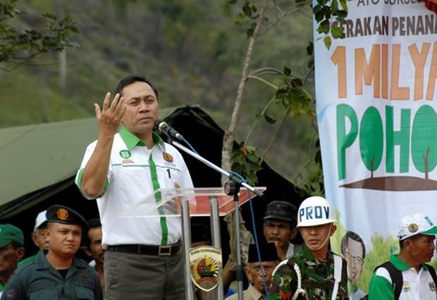 印尼人协主席哈桑高度评价越南为地区和平、发展与繁荣所作出的贡献 hinh anh 1