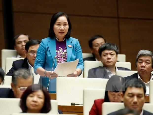 第十三届国会十一次会议:选民认为要推进经济增长模式向纵深转变 hinh anh 1