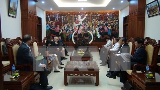 美国国际宗教自由的无任所大使高度评价越南宗教工作取得的进展 hinh anh 1