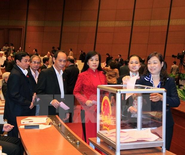 越南第十三届国会第十一次会议发表第九号公报 hinh anh 1
