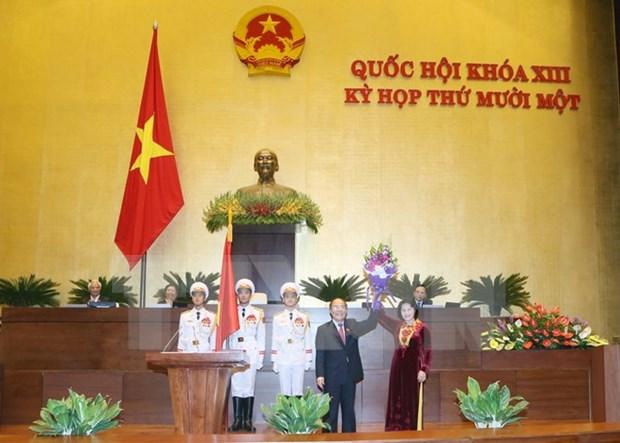 全国选民对越南首位女国会主席寄予厚望 hinh anh 1