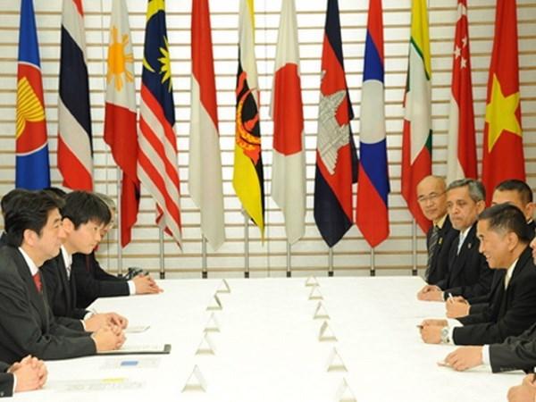 东盟与日本加强双边关系 hinh anh 1