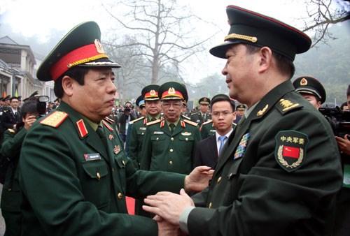 越中两国加强团结 共建和平友好的边界线 hinh anh 1