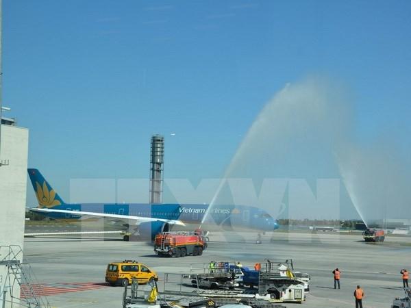 越航正式启用A350-900新型宽体客机执飞中国航线 hinh anh 1