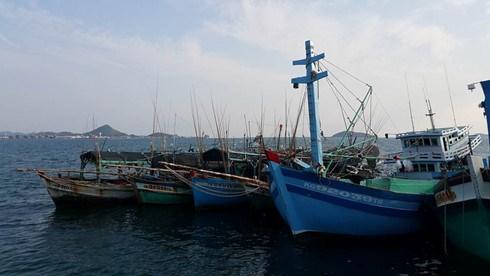 泰国扣留越南渔船和渔民 hinh anh 1