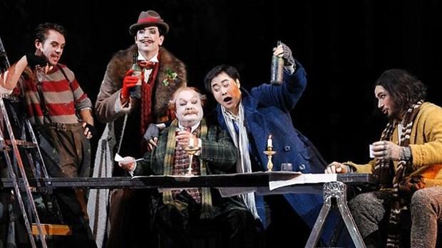 著名歌剧《波希米亚人》亮相越南公众 hinh anh 1