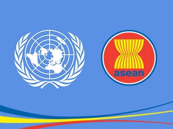 东盟秘书处和联合国加强合作 面向和平与繁荣的社会 hinh anh 1