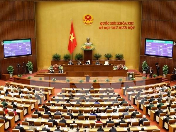 越南第十三届国会第十一次会议:国会提名第十三届国会副主席人选 hinh anh 1