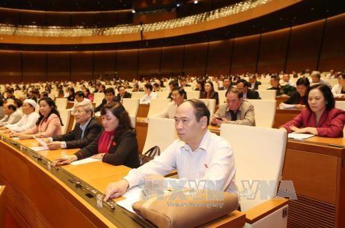 越南国会常务委员会提出国会各委员会主任候选人提名名单 hinh anh 1