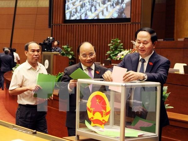 越南第十三届国会第十一次会议发表第十二号公报 hinh anh 1