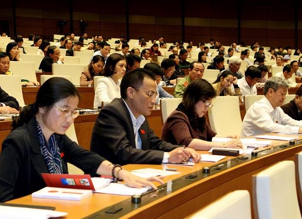 第十三届国会十一次会议:国会通过四项法案 hinh anh 1