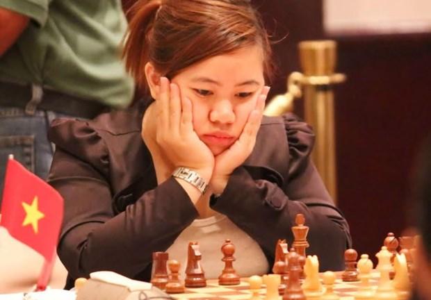 国际象棋2016亚洲团体赛:越南女队居第5位 hinh anh 1