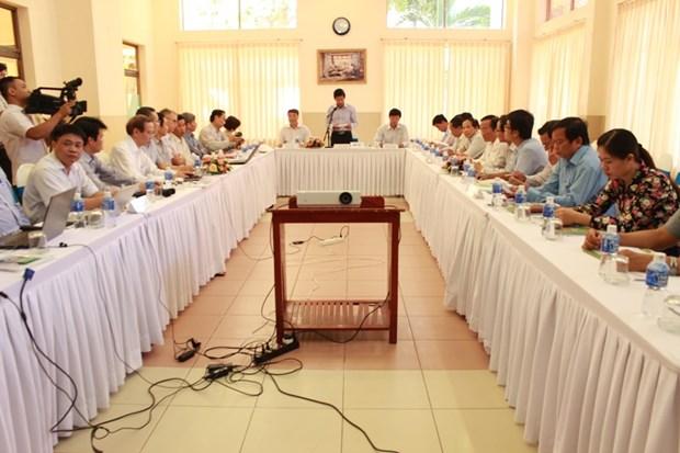 越南平顺省启动气候资料研究与分析活动 hinh anh 1